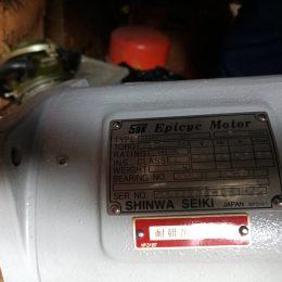 Yaskawa UAEPE-5C2 Epicyc Motor 72rpm 3ph 200/220v-ac