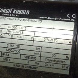 Georgii Kobold kod 446-1a pu-mb/wk/rd/g